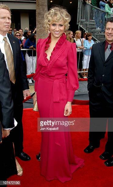 Jennifer Landon during 33rd Annual Daytime Emmy Awards Arrivals at Kodak Theater in Hollywood California United States