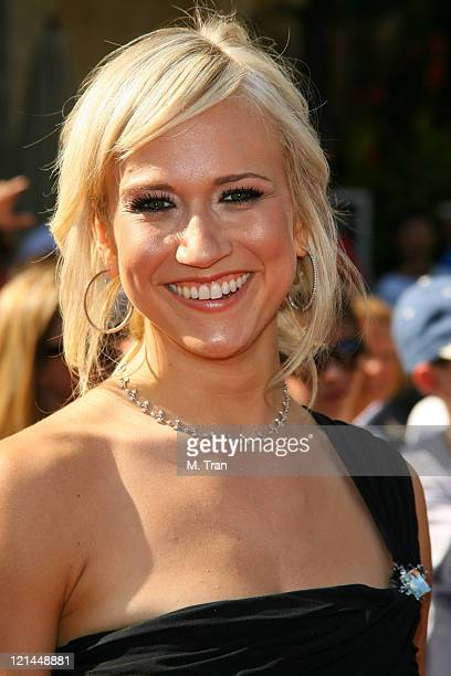 Jennifer Landon during 34th Annual Daytime Emmy Awards Arrivals at Kodak Theatre in Hollywood California United States