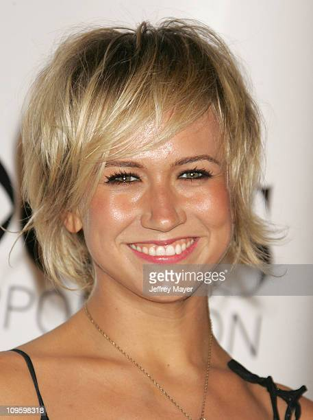 Jennifer Landon during CBS/Paramount/UPN/Showtime/King World 2006 TCA Winter Press Tour Party Arrivals at The Wind Tunnel in Pasadena California...