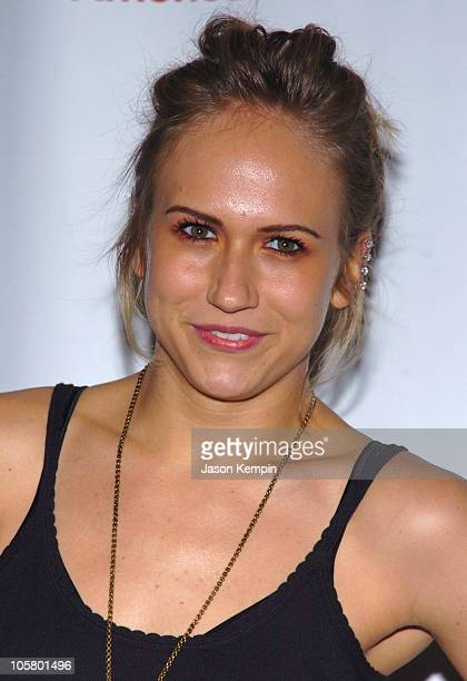 Jennifer Landon during The 33rd Annual Daytime Creative Arts Emmy Awards in New York Arrivals at Marriott Marquis Hotel in New York City New York...