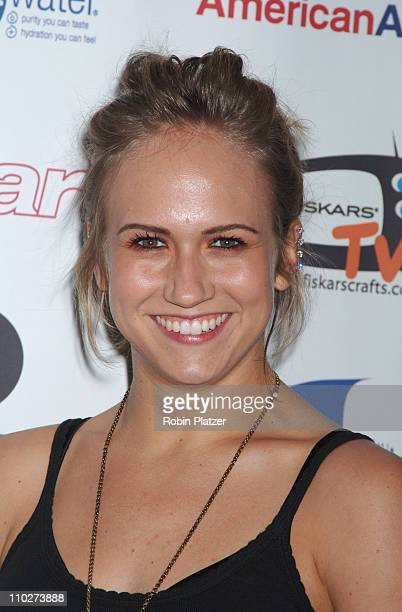 Jennifer Landon of As The World Turns during The 33rd Annual Daytime Creative Arts Emmy Awards in New York Arrivals at Marriott Marquis Hotel in New...