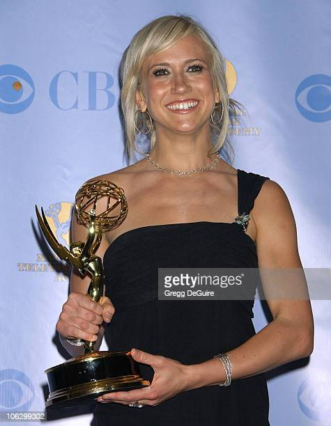 Jennifer Landon winner Outstanding Younger Actress in a Drama Series award for As the World Turns