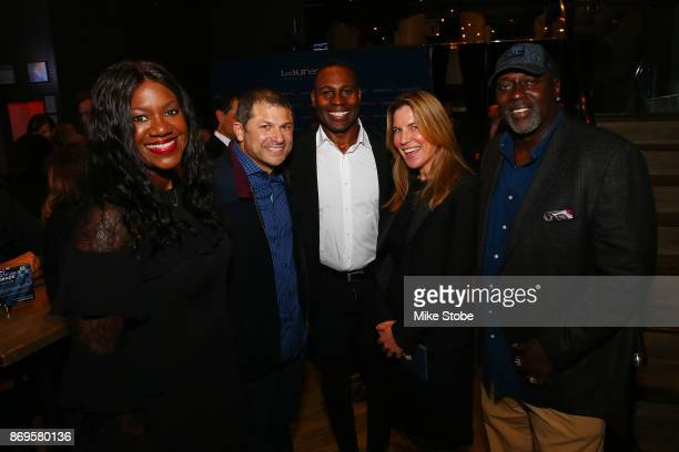 Jennifer Langton NFL VP of Health and Saftey Policy Benita Fitzgerald Mosley CEO of Laureus USA and Olympic Gold Medalist Tony Richardson Former...