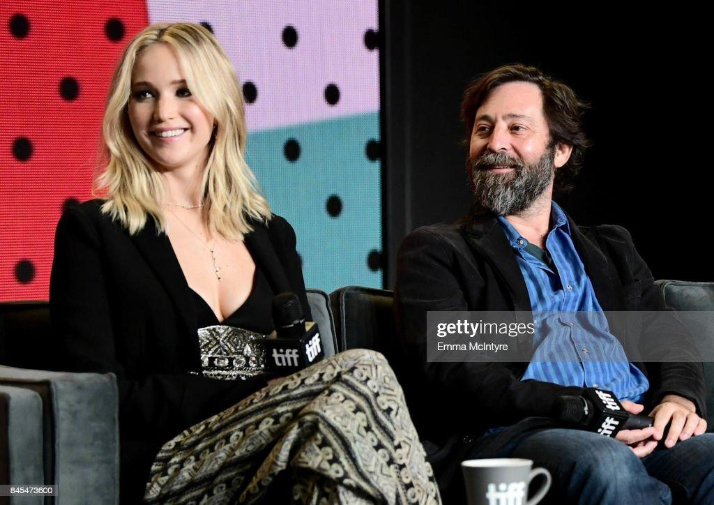 'mother!' Press Conference - 2017 Toronto International Film Festival : News Photo