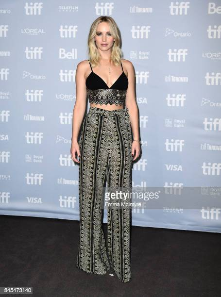 Jennifer Lawrence at the 'mother' press conference during the 2017 Toronto International Film Festival held at TIFF Bell Lightbox on September 10...
