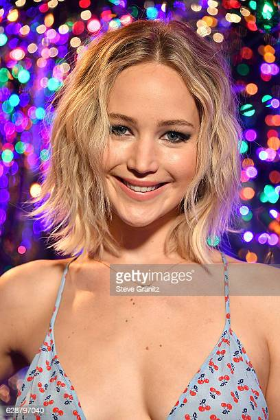 Jennifer Lawrence at the Photo Call For Columbia Pictures' 'Passengers' at Four Seasons Hotel Los Angeles at Beverly Hills on December 9 2016 in Los...
