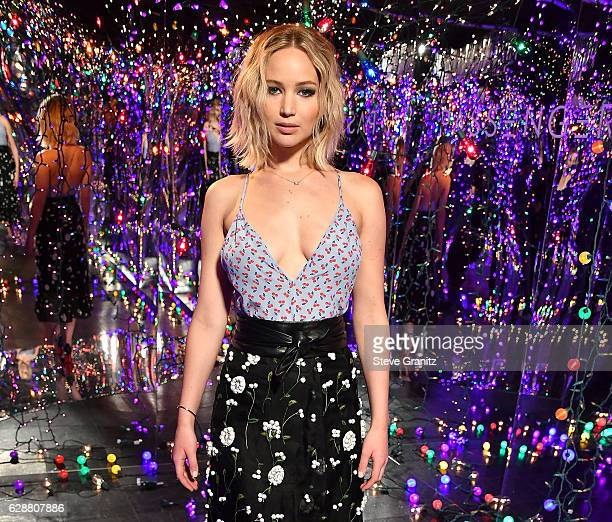 """Jennifer Lawrence at the Photo Call For Columbia Pictures' """"Passengers"""" at Four Seasons Hotel Los Angeles at Beverly Hills on December 9, 2016 in Los..."""
