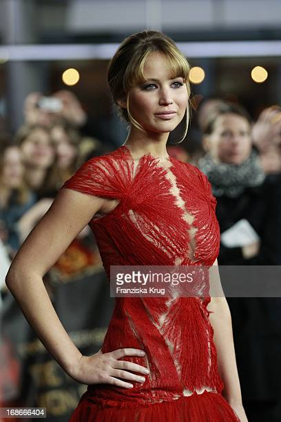 Jennifer Lawrence At The Premiere Of The Hunger Of Panem The Hunger Games In the Cinestar Sony Center in Berlin