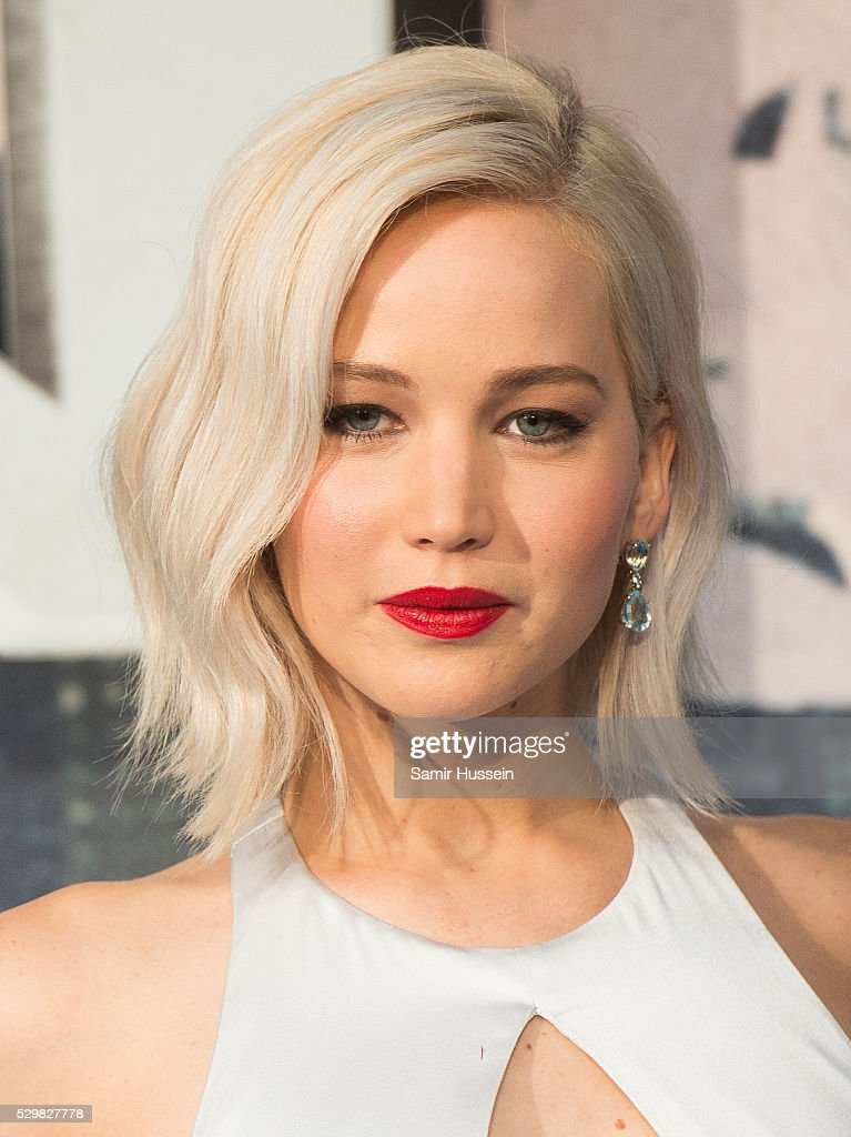 Jennifer Lawrence attends a Global Fan Screening of 'X-Men Apocalypse' at BFI IMAX on May 9, 2016 in London, England.