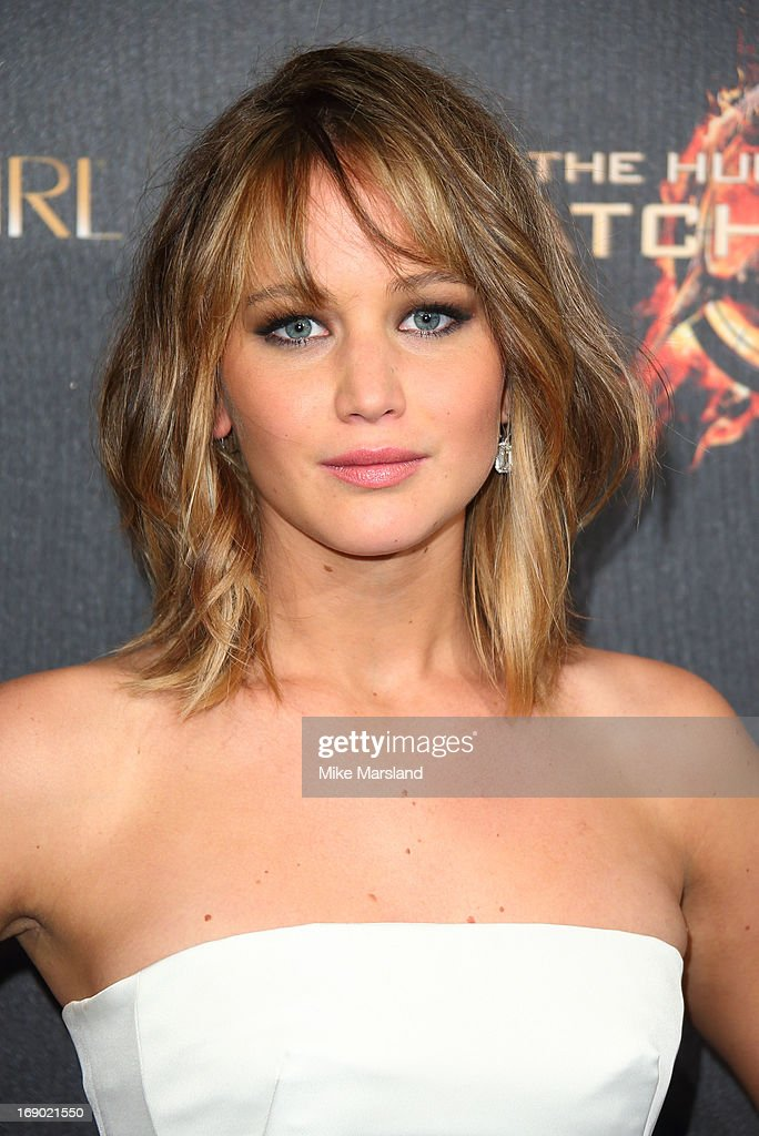 Jennifer Lawrence attends a party for 'The Hunger Games: Catching Fire' at The 66th Annual Cannes Film Festival at Baoli Beach on May 18, 2013 in Cannes, France.