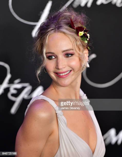 Jennifer Lawrence attends mother New York premiere at Radio City Music Hall on September 13 2017 in New York City