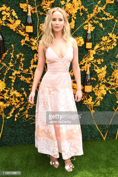 Jennifer Lawrence attends the 12th Annual Veuve Clicquot Polo Classic at Liberty State Park on June 01 2019 in Jersey City New Jersey