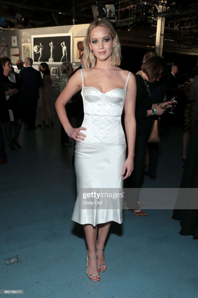 Jennifer Lawrence attends the BAM Gala 2018 honoring Darren Aronofsky, Jeremy Irons, and Nora Ann Wallace at Brooklyn Cruise Terminal on May 30, 2018 in New York City.