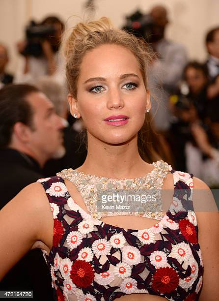"Jennifer Lawrence attends the ""China: Through The Looking Glass"" Costume Institute Benefit Gala at Metropolitan Museum of Art on May 4, 2015 in New..."