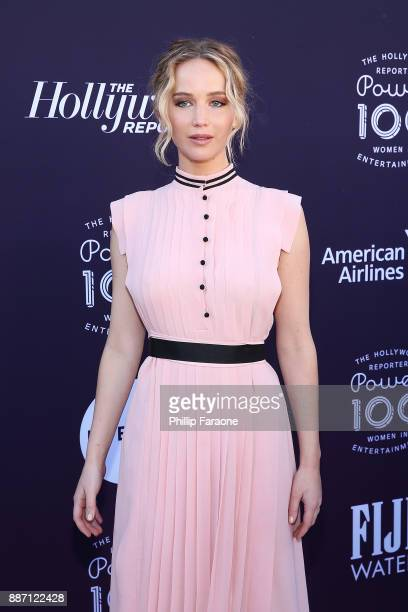 Jennifer Lawrence attends the Hollywood Reporter/Lifetime WIE Breakfast at Milk Studios on December 6 2017 in Hollywood California