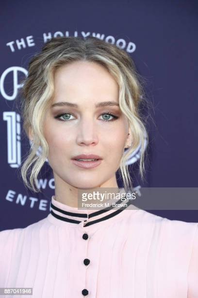 Jennifer Lawrence attends The Hollywood Reporter's 2017 Women In Entertainment Breakfast at Milk Studios on December 6 2017 in Los Angeles California