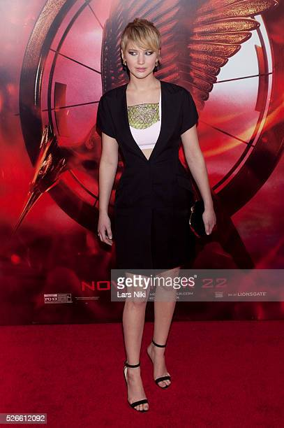 Jennifer Lawrence attends The Hunger Games Catching Fire Special Screening at the AMC Lincoln Square in New York City �� LAN
