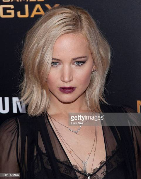 """Jennifer Lawrence attends """"The Hunger Games: Mockingjay- Part 2"""" New York Premiere AMC Loews Lincoln Square 13 theater in New York City. © LAN"""
