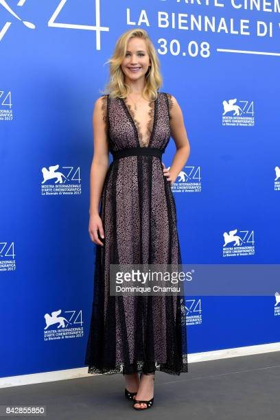 Jennifer Lawrence attends the 'mother' photocall during the 74th Venice Film Festival on September 5 2017 in Venice Italy
