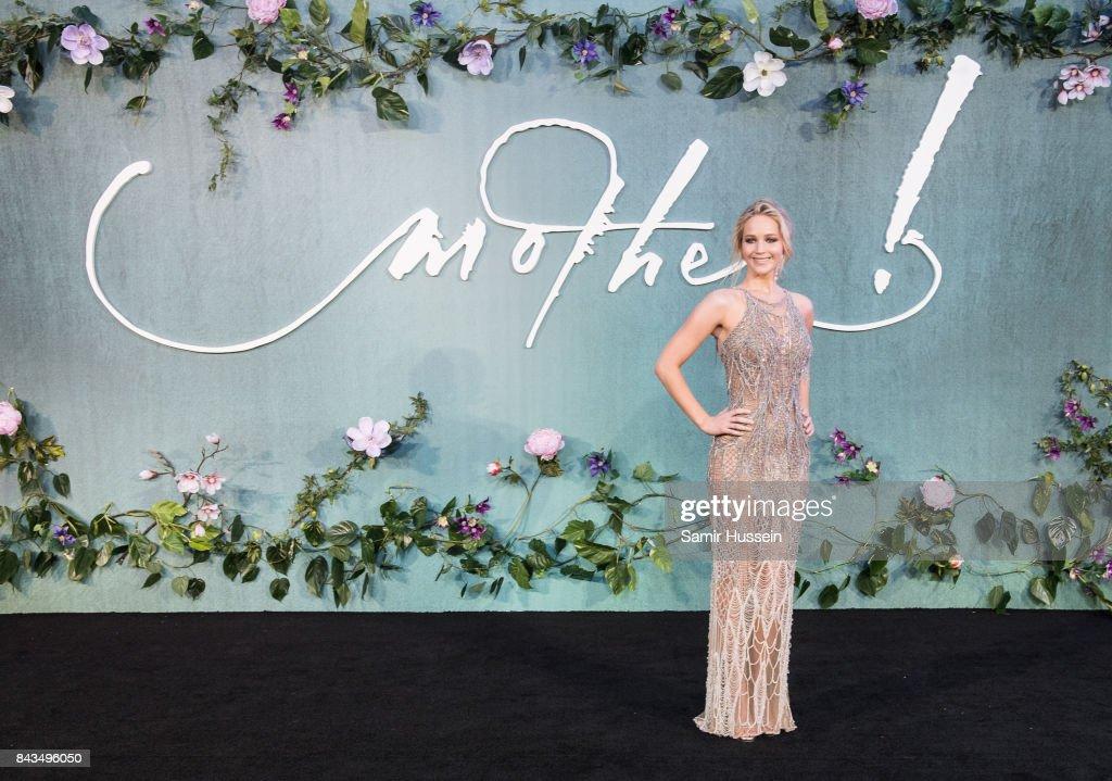 'Mother!' UK Premiere - Red Carpet Arrivals : News Photo