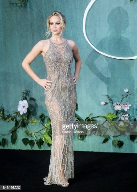 Jennifer Lawrence attends the 'Mother' UK premiere at Odeon Leicester Square on September 6 2017 in London England