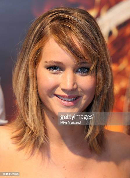 Jennifer Lawrence attends the photocall for 'The Hunger Games Catching Fire' at The 66th Annual Cannes Film Festival at Majestic Hotel on May 18 2013...