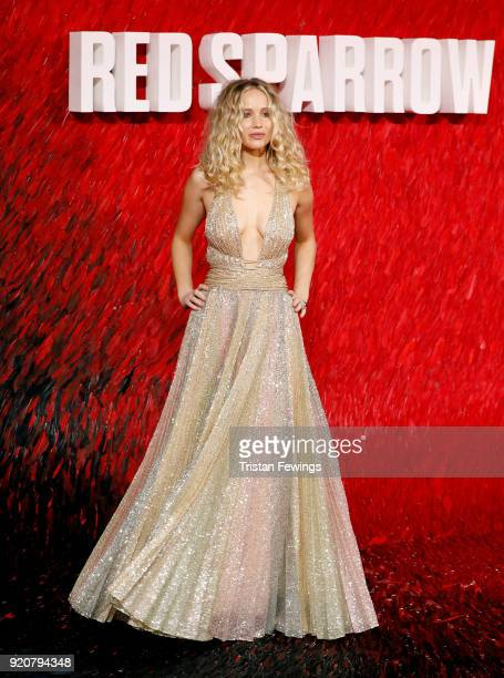 Jennifer Lawrence attends the 'Red Sparrow' European premiere at the Vue West End on February 19 2018 in London England
