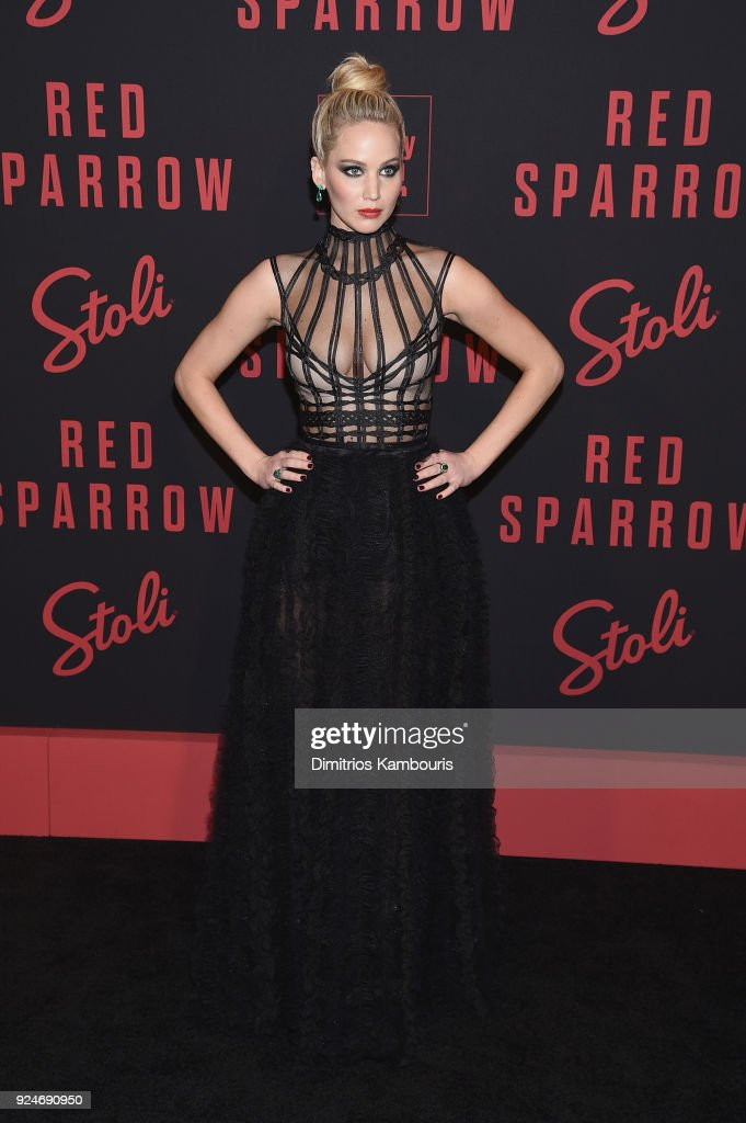 """Red Sparrow"" New York Premiere : News Photo"