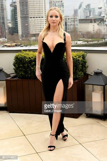 Jennifer Lawrence attends the 'Red Sparrow' photocall at The Corinthia Hotel on February 20 2018 in London England