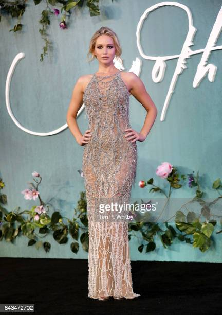 Jennifer Lawrence attends the UK Premiere of mother at the Odeon Leicester Square on September 6 2017 in London England
