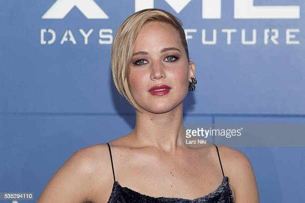 """Jennifer Lawrence attends the """"X-Men: Days of Future Past"""" global premiere at Jacob K. Javits Convention Center in New York City. © LAN"""