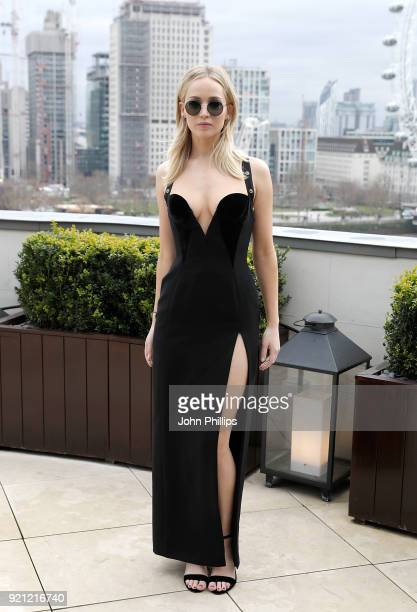 Jennifer Lawrence during the 'Red Sparrow' photocall at The Corinthia Hotel on February 20 2018 in London England