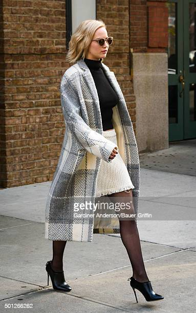 Jennifer Lawrence is seen on December 13 2015 in New York City