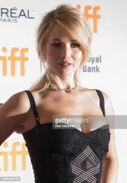 Jennifer Lawrence on the carpet TIFF red carpet outside Princess of Wales theatre for the screening of MOTHER directed by Darren Aronofsky and cast...