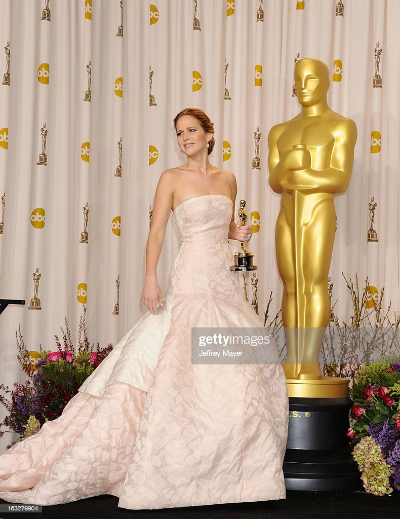 85th Annual Academy Awards - Press Room : News Photo