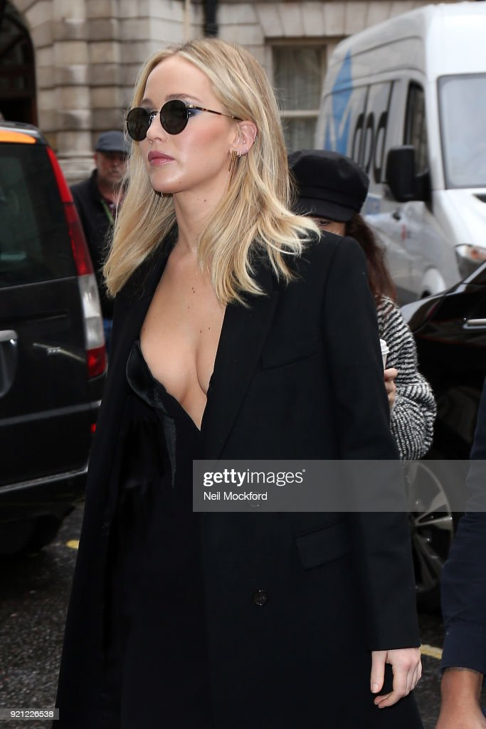 Jennifer Lawrence London Sightings -  February 20, 2018