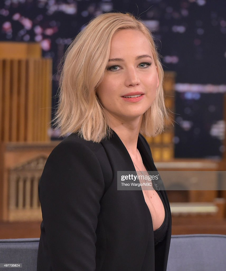 "Jennifer Lawrence Visits ""The Tonight Show Starring Jimmy Fallon"""