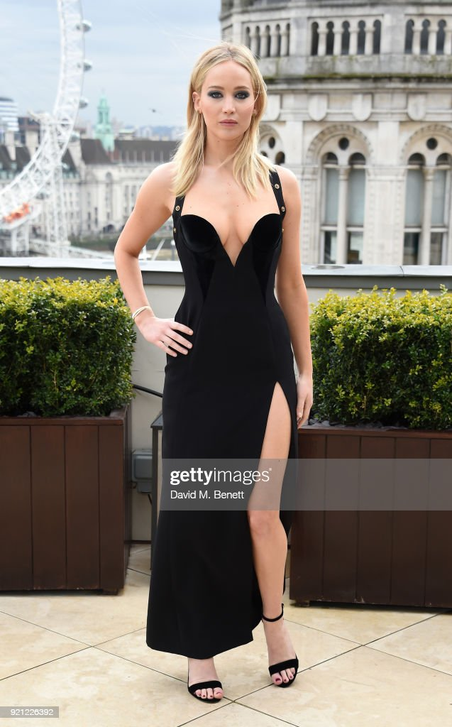 Jennifer Lawrenceattends the 'Red Sparrow' photocall at Corinthia London on February 20, 2018 in London, England.