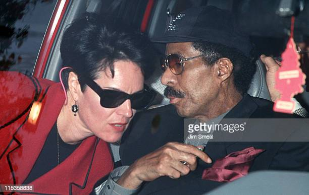 Jennifer Lee and Richard Pryor during Wedding of Whoopi Goldberg and Lyle Trachtenberg at Home of Whoopi Goldberg in Pacific Palisades California...