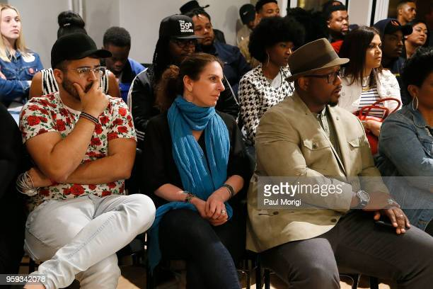 Jennifer Leff LCSW Senior Director MusiCares and Jeriel Johnson Executive Director The Recording Academy DC Chapter attend the Vocal Health Clinic...