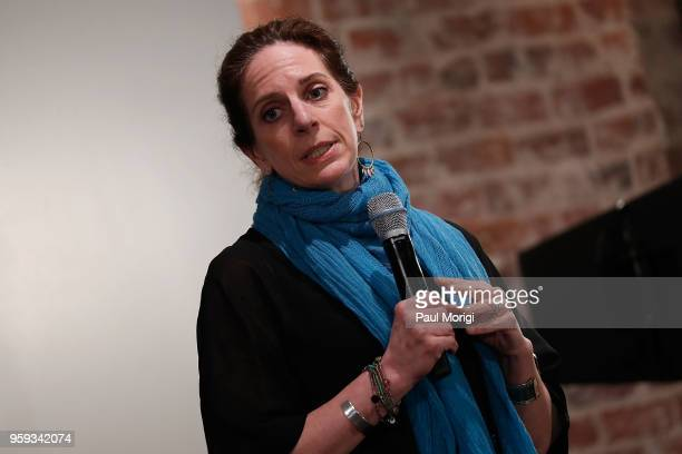 Jennifer Leff LCSW Senior Director MusiCares speaks at the Vocal Health Clinic hosted by The Recording Academy WDC Chapter and MusiCares at the...