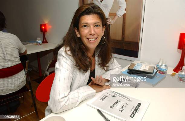 Jennifer Levine during 2006 Los Angeles Film Festival Kodak Speed Dating Day Three at Target Red Room in Westwood California United States