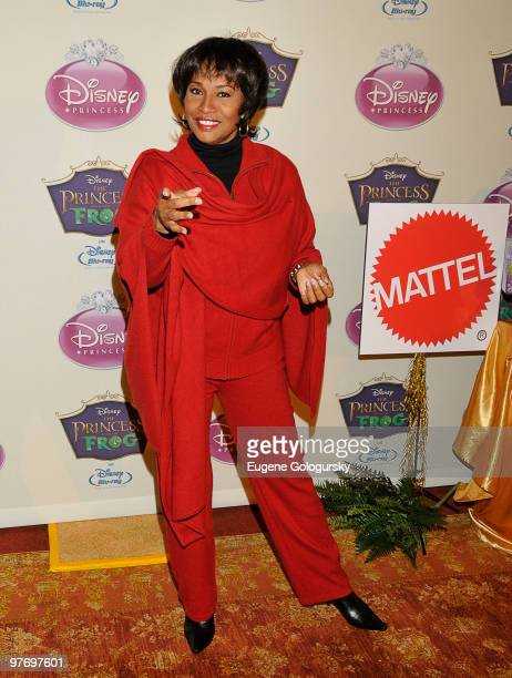 Jennifer Lewis attends Princess Tiana's official induction into the Disney Princess Royal Court and The Princess and the Frog DVD launch at The New...
