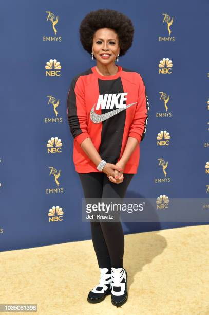 Jennifer Lewis attends the 70th Emmy Awards at Microsoft Theater on September 17 2018 in Los Angeles California
