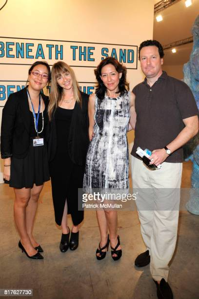 Jennifer Loh Heather Harmon Shaun Regan and Jamie Frankfort attend ART BASEL MIAMI BEACH 2010 at Miami Beach Convention Center on December 1 2010 in...