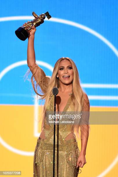 Gabrielle Wright attends the 2018 MTV Video Music Awards at Radio City Music Hall on August 20 2018 in New York City