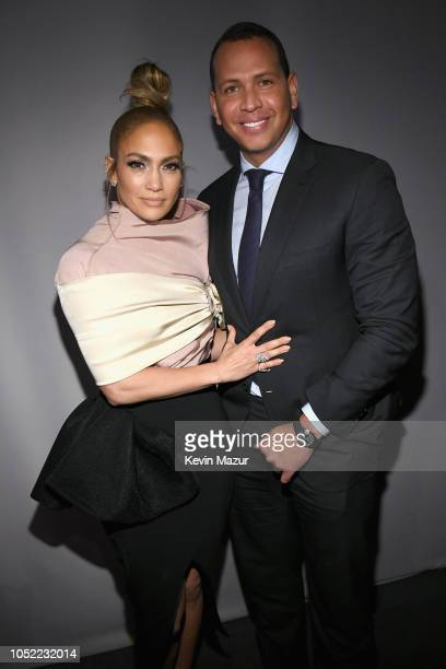 Jennifer Lopez and Alex Rodriguez attend ELLE's 25th Annual Women In Hollywood Celebration presented by L'Oreal Paris Hearts On Fire and CALVIN KLEIN...