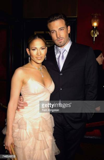 Jennifer Lopez and Ben Affleck at the The Ziegfeld Theatre in New York City, New York