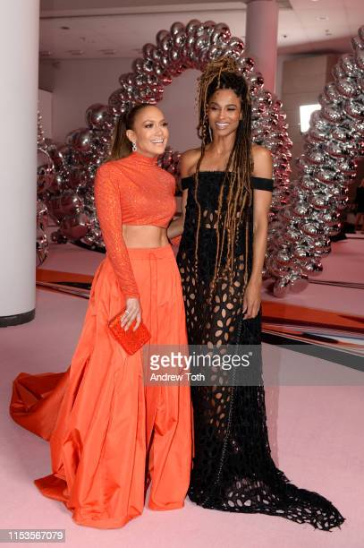 Jennifer Lopez and Ciara attend the CFDA Fashion Awards on June 03, 2019 in New York City.
