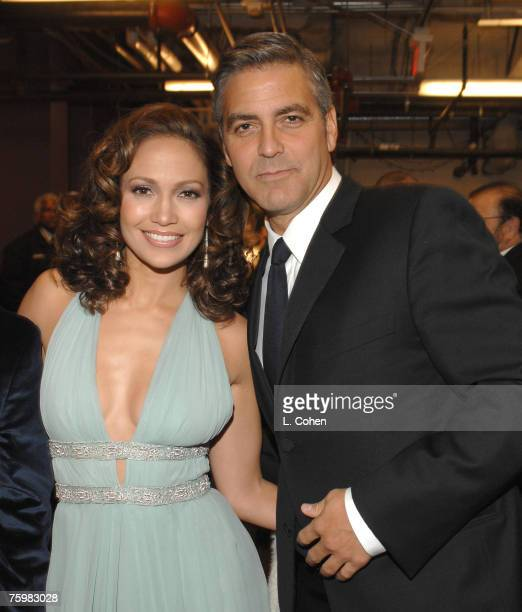Jennifer Lopez and George Clooney *EXCLUSIVE*